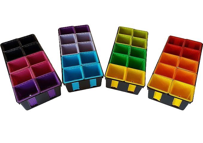 2 opinioni per Vaschette per la semina colorate, colorato (x40) di 8x8x7 cm (Lxlxa) E mensole
