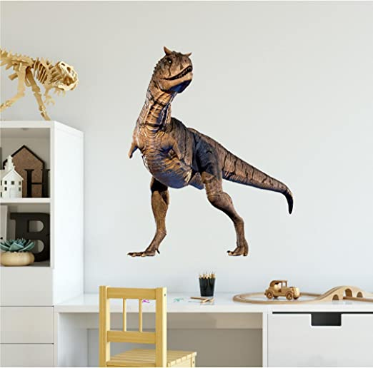 Dinosaur World Jurassic T Rex Kids Wall Art Sticker Mural Decal Transfer