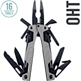 Leatherman - OHT Multitool, Silver with MOLLE Black Sheath (FFP)