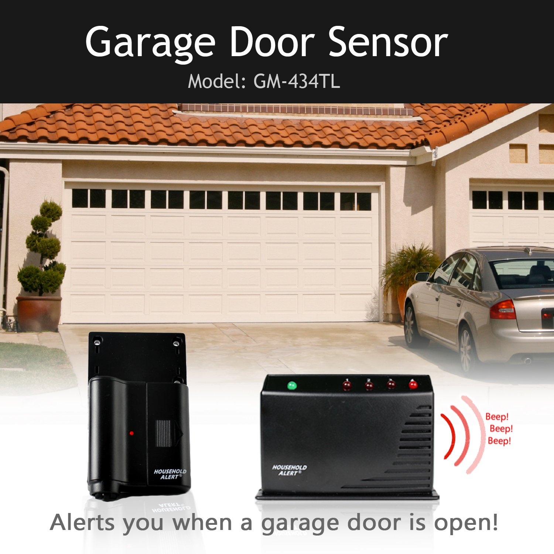 Skylink GM-434RTL  Long Range Household Alert & Alarm Home Security Safety Protection Garage Door Monitor System Kit