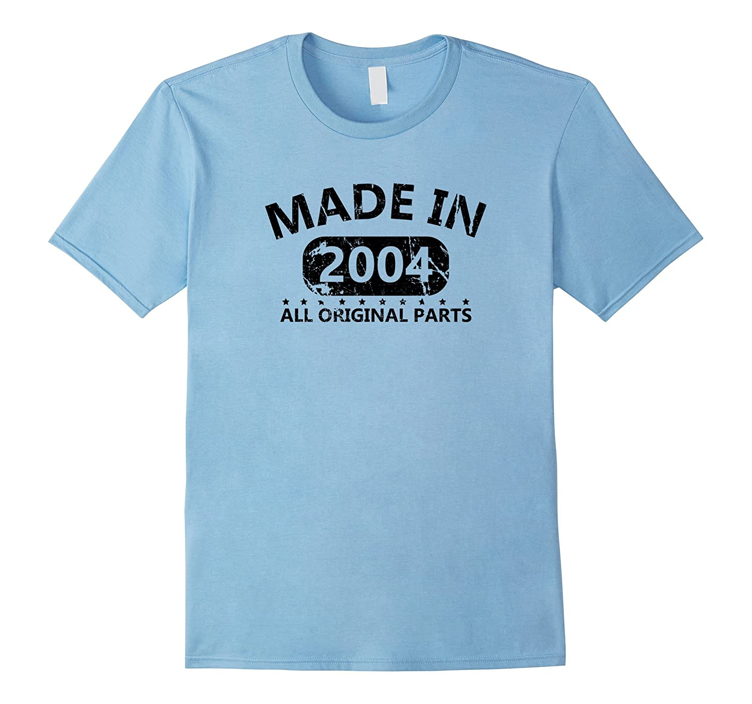 13th Birthday Made 2004 Vintage Funny T-shirt Gift Quote Tee-PL