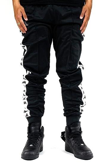 fcd495aca5 Kappa Men's Banda Rrastoria Slim Track Pants at Amazon Men's ...