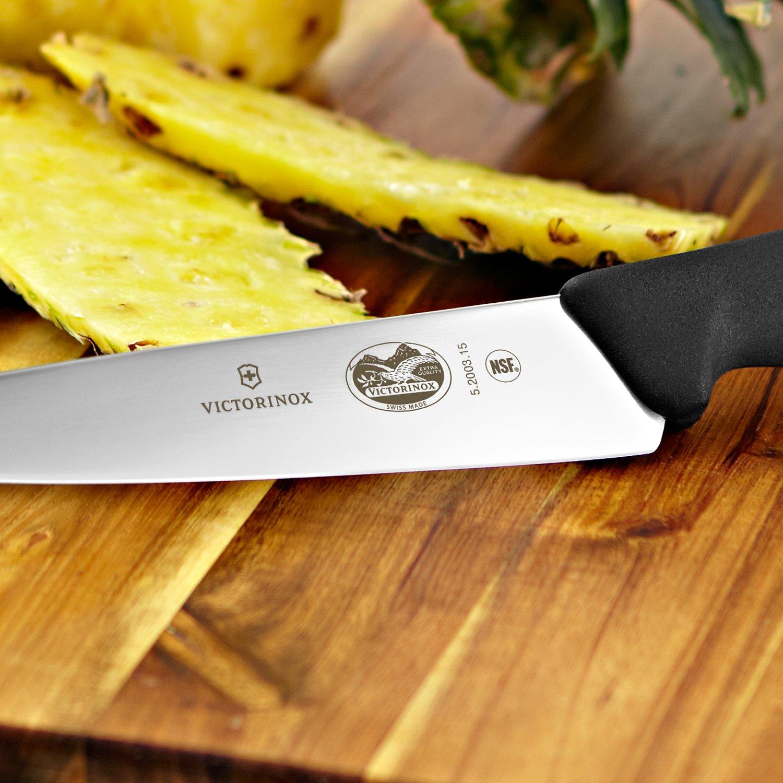 Victorinox 6 Inch Fibrox Pro Chefs Knife Knives Kitchen Pisau Sett Pcs Dining