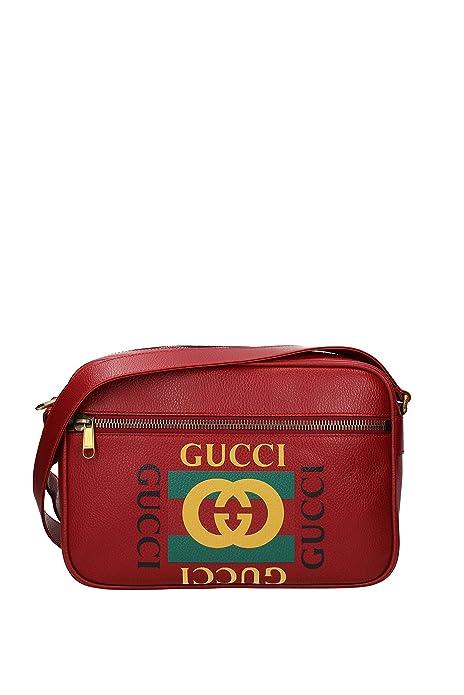 design di qualità 3e2bf 8ec79 Gucci Borse a Tracolla Uomo - Pelle (5235890QSAT): Amazon.it ...