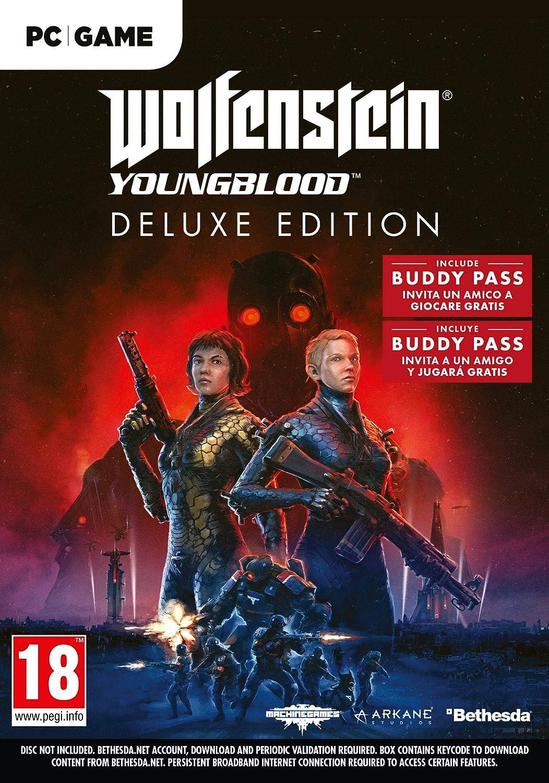 Wolfenstein Youngblood - Edición Deluxe PC ((La caja contiene un ...