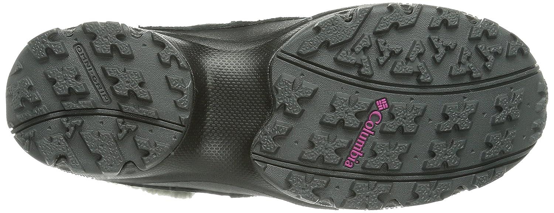 Columbia Sierra Summette Shorty Damen Halbschaft Stiefel ROT Schwarz (schwarz, ROT Stiefel Plum 010) 0e3664