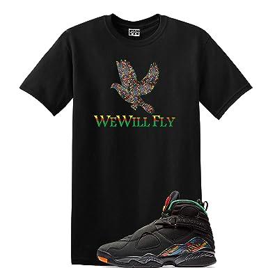 4d821e84db94 We Will Fit Bird Shirt Jordan Retro 8 Tinker AIR RAID Concord Aloe (Small)
