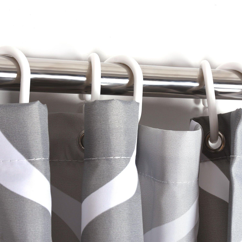 HuaForCity Rideau de Douche 200x200 Imperm/éable Anti-moisissure Polyester Salle de Bain Baignoire avec 12 Anneaux