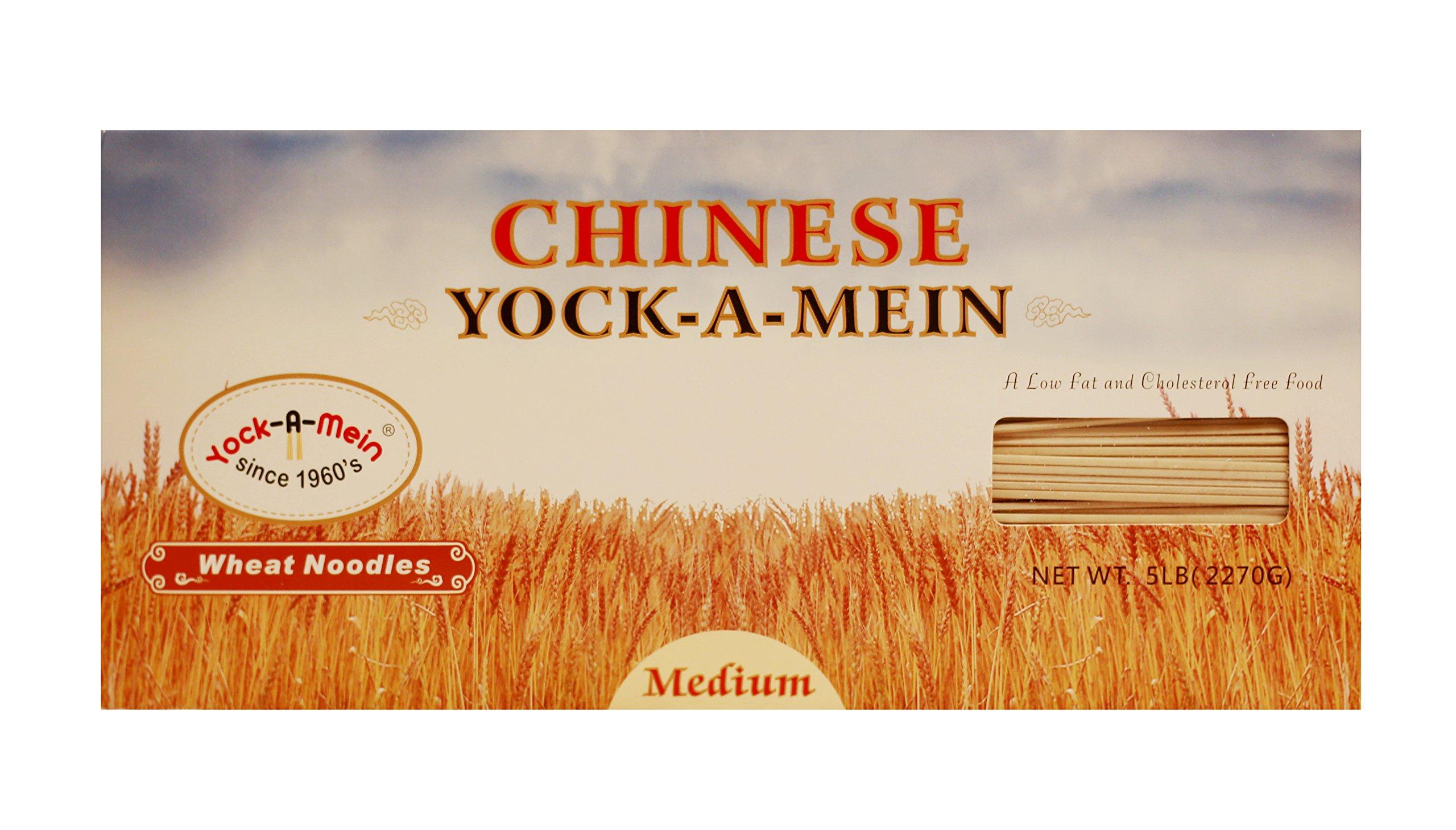 Yo k-A-Mein Medium Wheat Noodles, 5 Pound