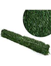 Christow Artificial Conifer Leaf Hedge Roll Screening Privacy Screen Garden Fence 1m x 3m