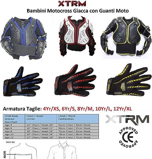 Niños Chaqueta para moto Protección de Motocross Quad ATV Dirt ...