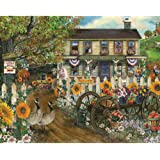 Bits and Pieces - 300 Large Piece Jigsaw Puzzle for Adults - The Old Country Store - 300 Large Piece Jigsaw Puzzle by Artist Tom Wood