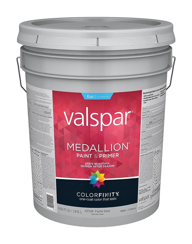 Valspar 45508 Exterior Latex Paint with Pastel Base - House Paint ...
