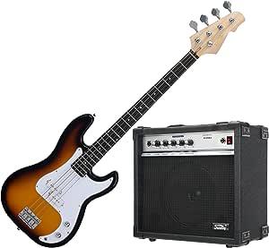 Rocktile Bajo eléctrico Puncher Bass sunburst (incluye ...