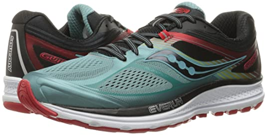 51bf8752 Saucony Men's Guide 10 Running Shoe, Blue/Black/Red, 11 M US: Buy ...