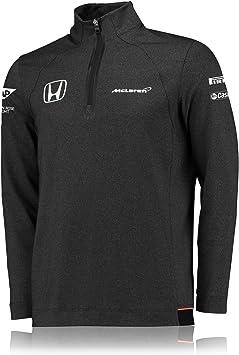 McLaren Honda Official 2017 Team 1//4 Zip SweatShirt Kids F1 Sweatshirt