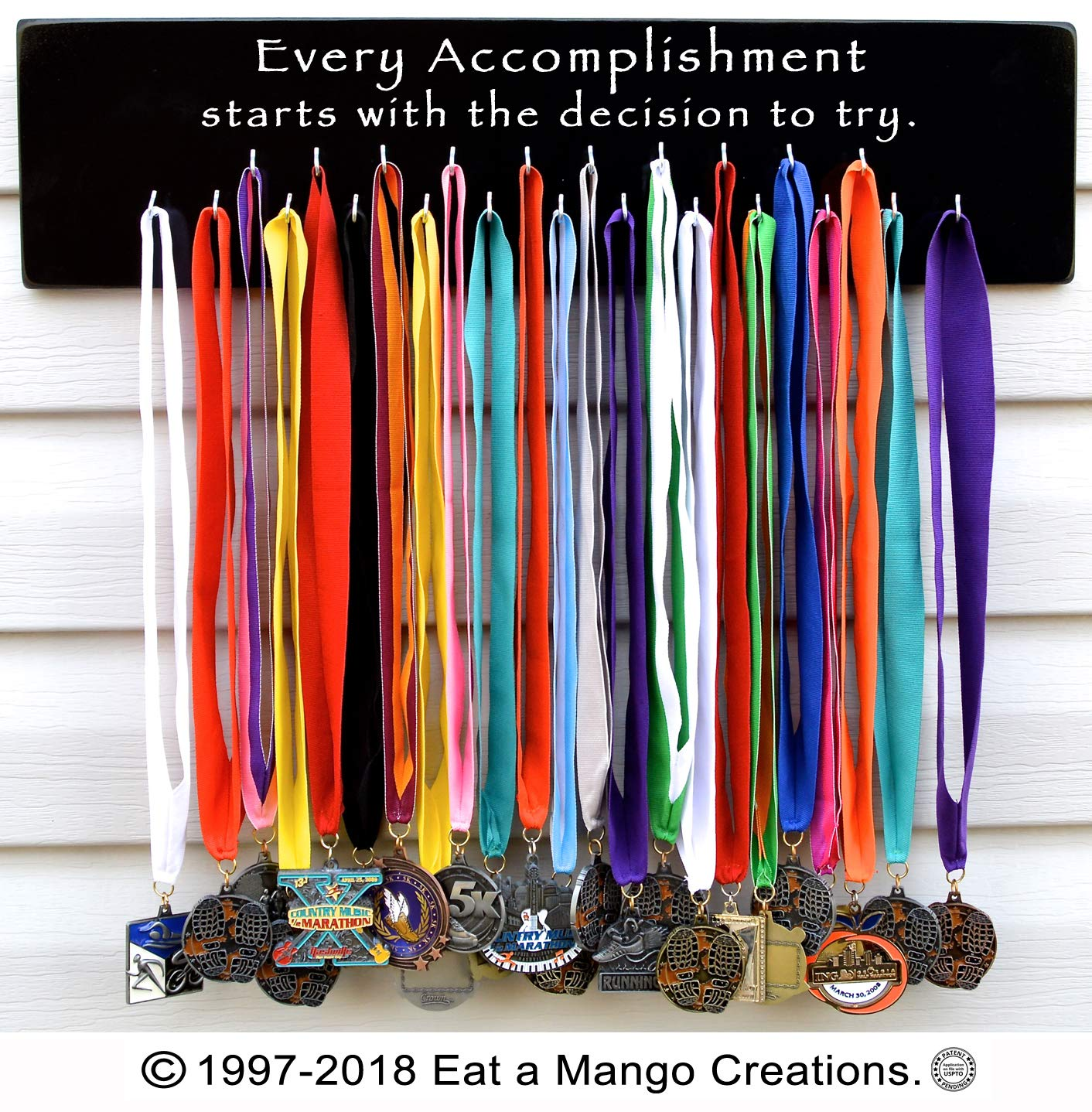 Eat a Mango Creations Order Early for Christmas,Medal Holder S4219 Every Accomplishment
