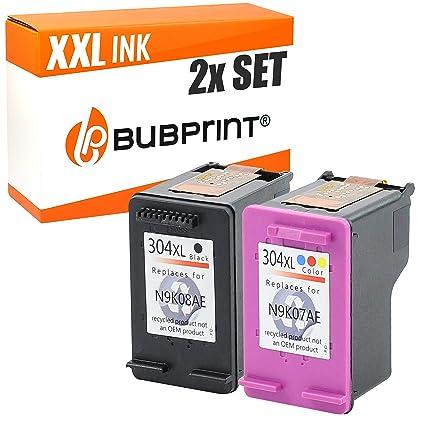 Juego De 2 Cartuchos de impresora compatible con HP 304 XXL con ...
