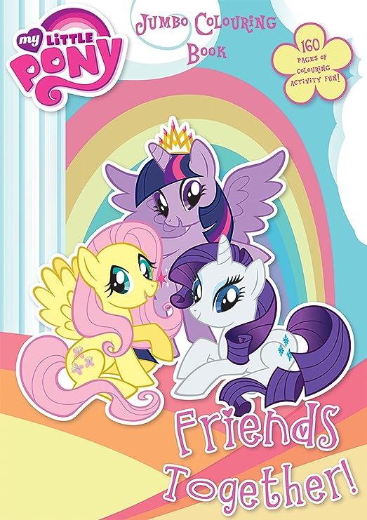 Libro de colorear My Little Pony con 160 páginas para niños.: Amazon ...