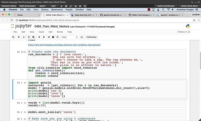 Amazon com: Natural Language Text Processing with Python