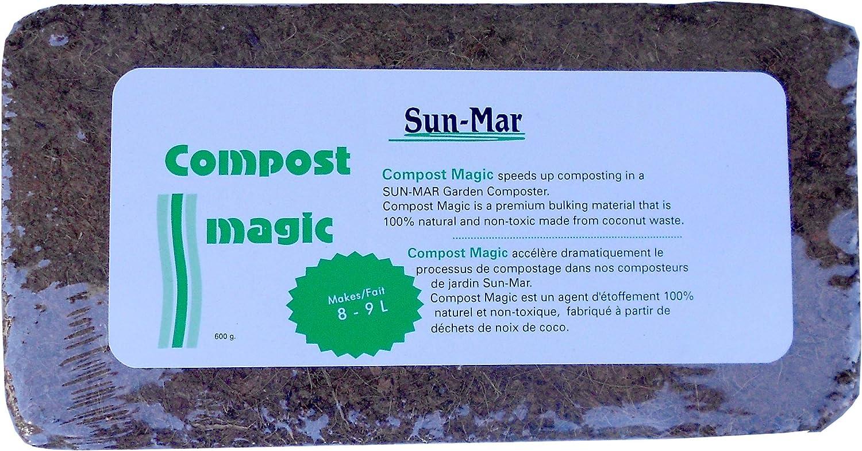 Amazon.com: Sun-Mar Corporation Compost Magic for Garden ...