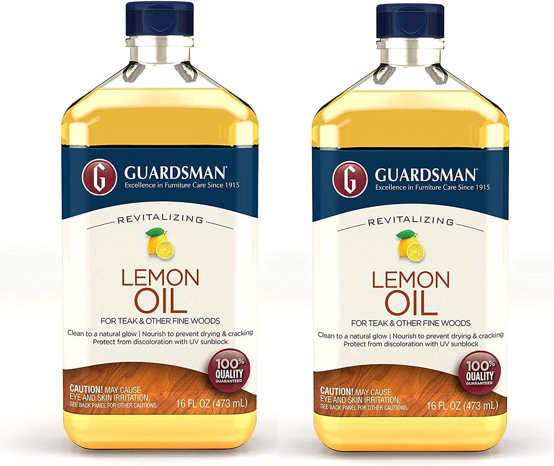 Guardsman Revitalizing Lemon Oil For Wood Furniture - 16 oz (2)