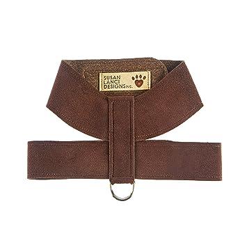 81mz%2BrPcBCL._SY355_ amazon com susan lanci tinkie harness (chocolate, xsmall) pet
