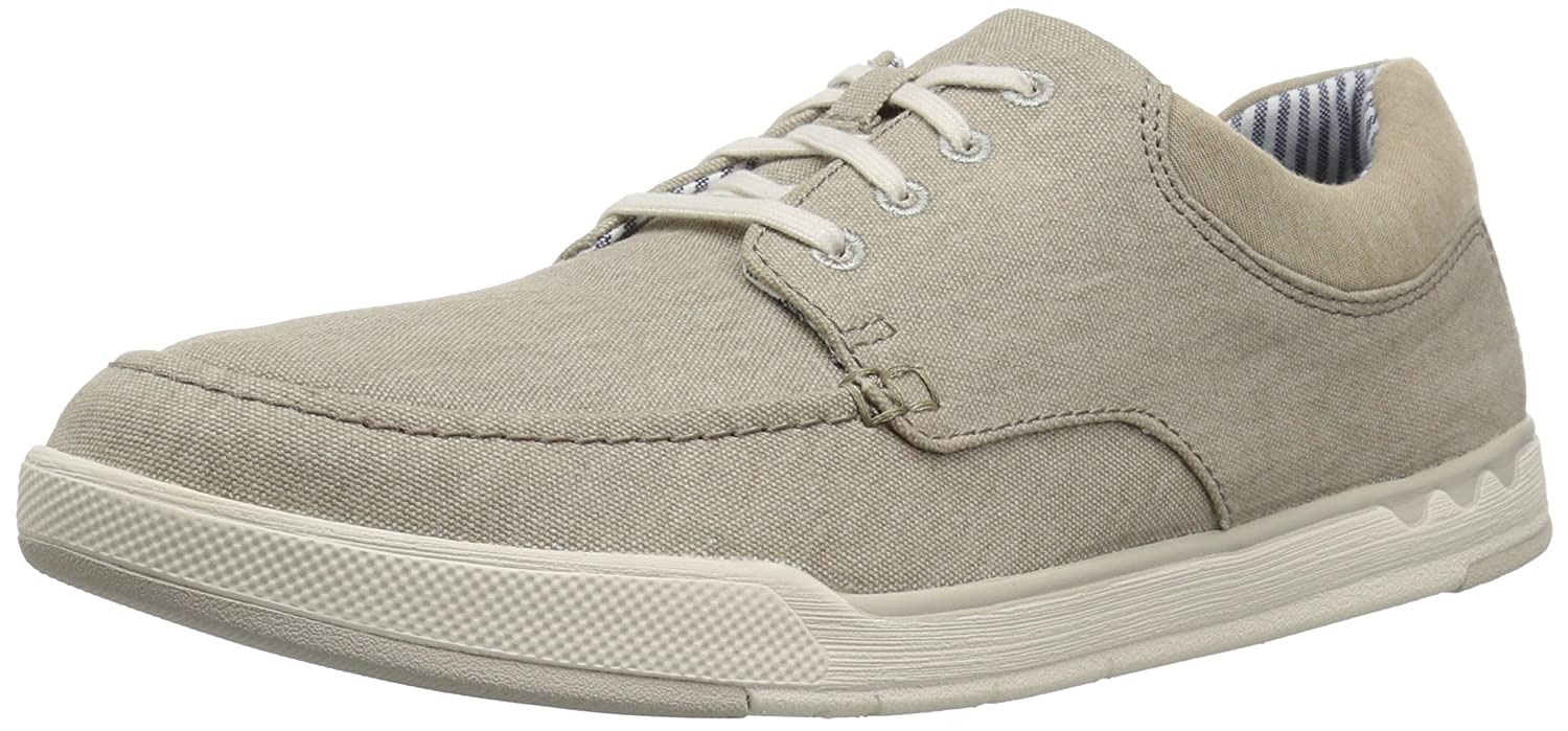fcd0fddc95565 Clarks Men's Step Isle Lace Sneaker, Sand Canvas, 9 Medium US: Buy Online  at Low Prices in India - Amazon.in