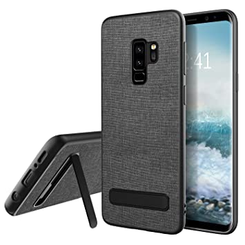 BENTOBEN Funda Samsung Galaxy S9 Plus Original, Fundas Samsung S9 Plus Carcasa Ultra Delgada Cover TPU Soporte Paño Material Protección Funda para ...