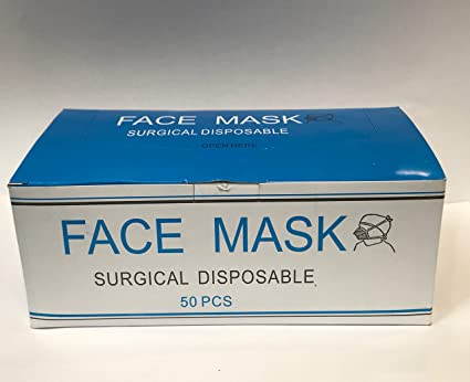 100 pcs disposable surgical mask ear loop face masks medical mask