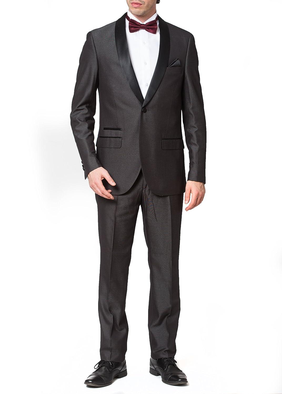 Adam Baker SUIT メンズ B075WZGZPW 42 Regular チャコールグレー チャコールグレー 42 Regular