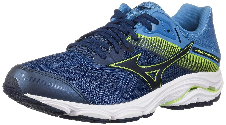 bleu Wing Teal-Robe bleu 48 EU XW Mizuno Hommes's Wave Inspire 15 FonctionneHommest chaussures