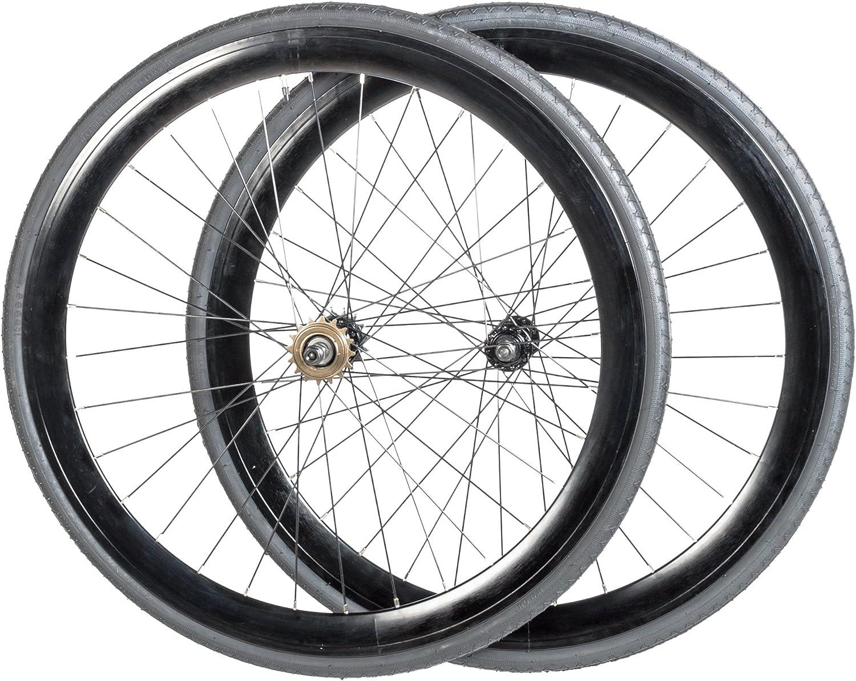 Vilano - Rueda Fixie 700C para bicicleta, velocidad única, noir ...
