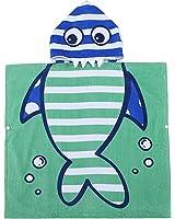 Small Shark Hooded Baby Towel - 100% Cotton Bath Towel