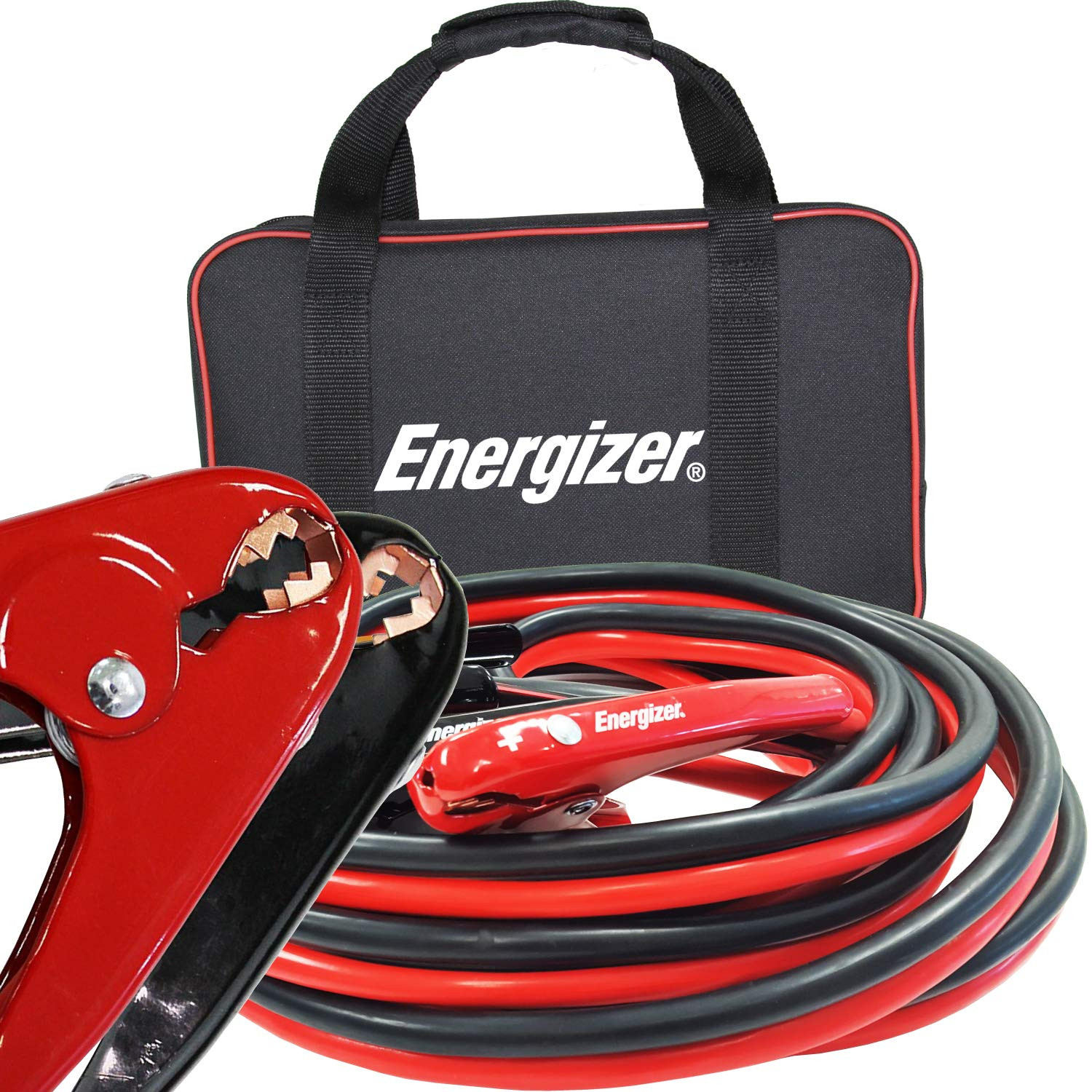 Energizer 1-Gauge 800A Permanent Installation kit Jumper Battery Cables with Quick Connect Plug 30 Ft Booster Jump Start ENB-130-30 Allows You to Boost a Battery from Behind a Vehicle!