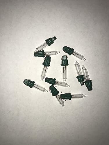 Replacement Christmas Bulbs.3 5 Volt Clear Replacement Christmas Mini Light Bulbs 100 Clear Mini Lights Green Base