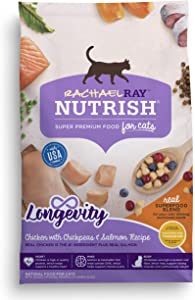 Rachael Ray Nutrish Super Premium Dry Cat Food, SuperFood Blends (Packaging May Vary)
