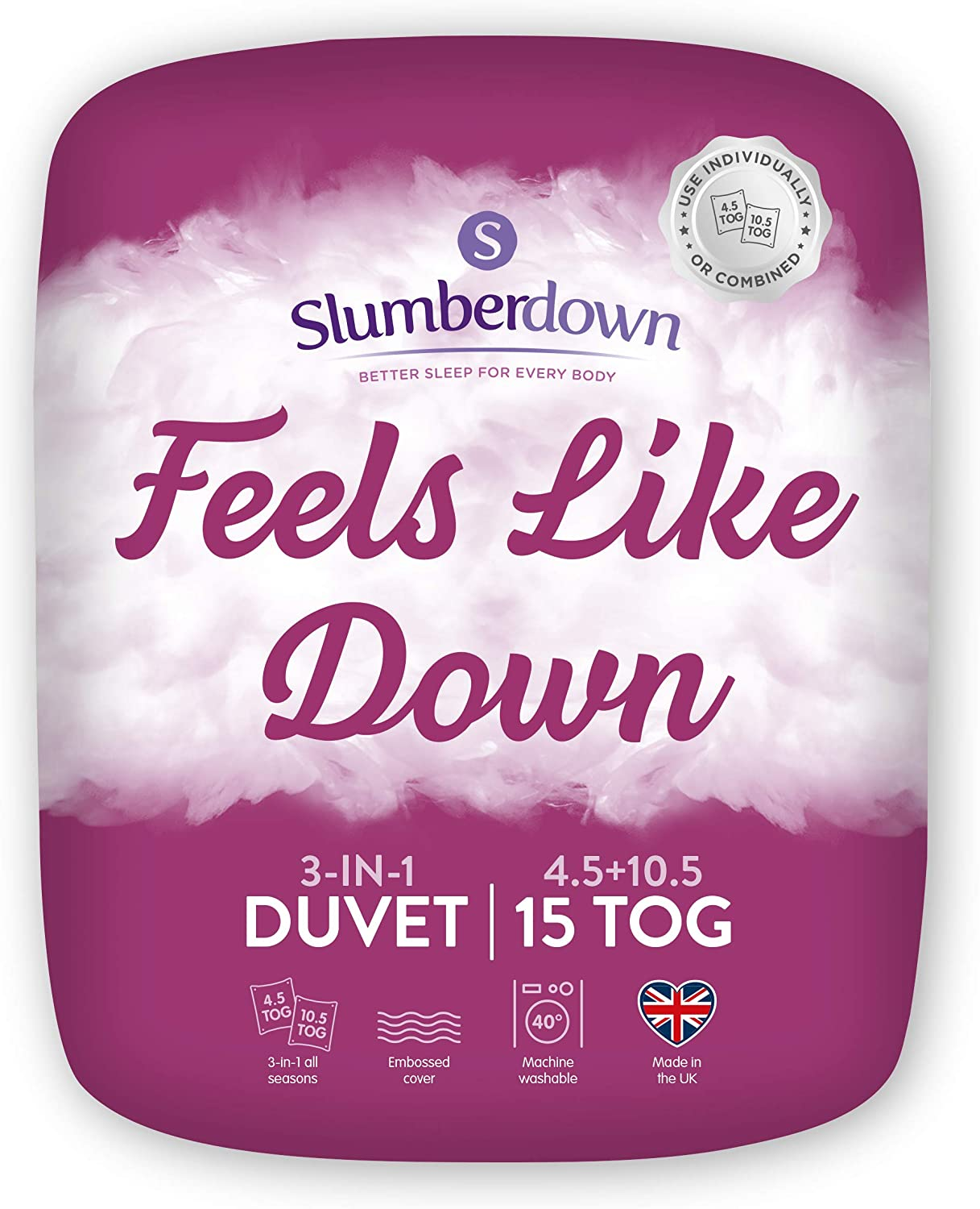 Slumberdown Feels Like Down 3 in 1
