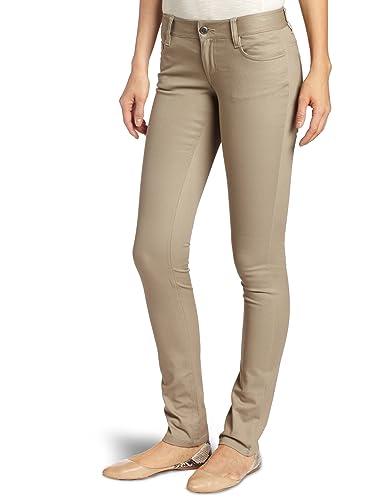 Amazon.com: Lee Uniforms Juniors Classic 5 Pocket Skinny Pant ...