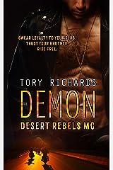 Demon (Desert Rebels MC Book 2) Kindle Edition