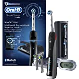 Oral-B Pro 7000 Black SmartSeries Electric Toothbrush with Bluetooth® Connectivity Powered by Braun (2 pin bathroom plug)