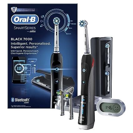 Oral-B PRO 7000 CrossAction Smart Series Cepillo de Dientes Eléctrico  Recargable con Conectividad Bluetooth cc467f80e59a