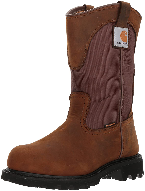 Carhartt Women's CWP1250 Work Boot B007T1Y4QE 7.5 D(M) US|Bison Brown Oil Tan