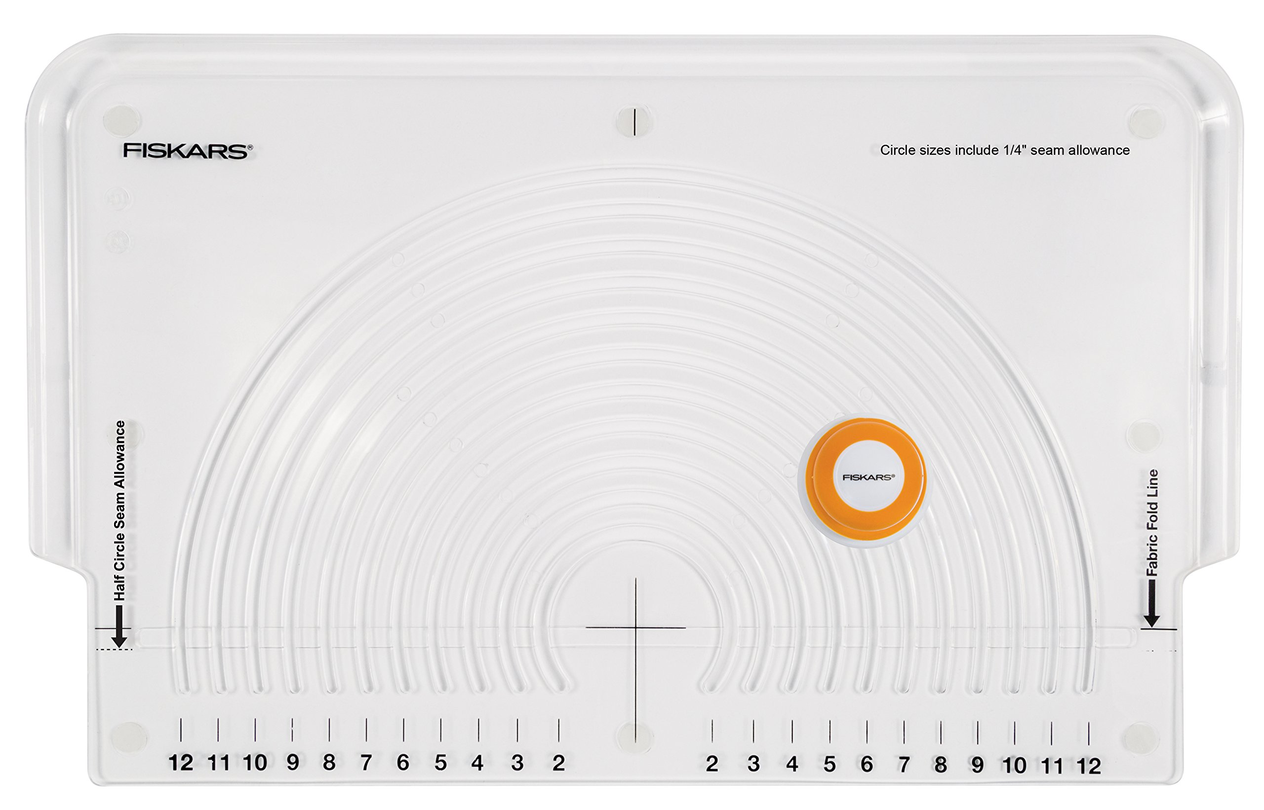Fiskars 111310-1004 Fabric Circle Cutter by Fiskars