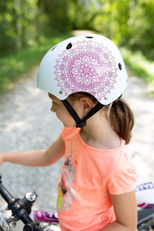 SC Skateboard /& BMX Bike Helmet for Kids /& Adults from 6-99 Years