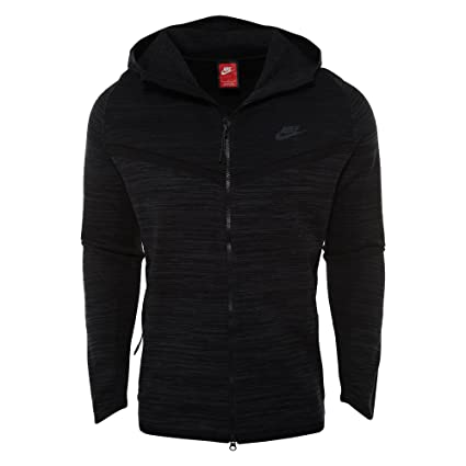 juego aire Marcar  Buy Nike Men's Tech Knit Windrunner Jacket Black 728685-043 Sz XL Online at  Low Prices in India - Amazon.in