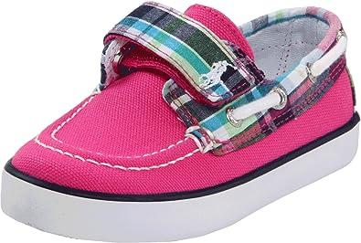 Polo by Ralph Lauren Sander EZ Sneaker (Toddler/Little Kid),Hot Pink