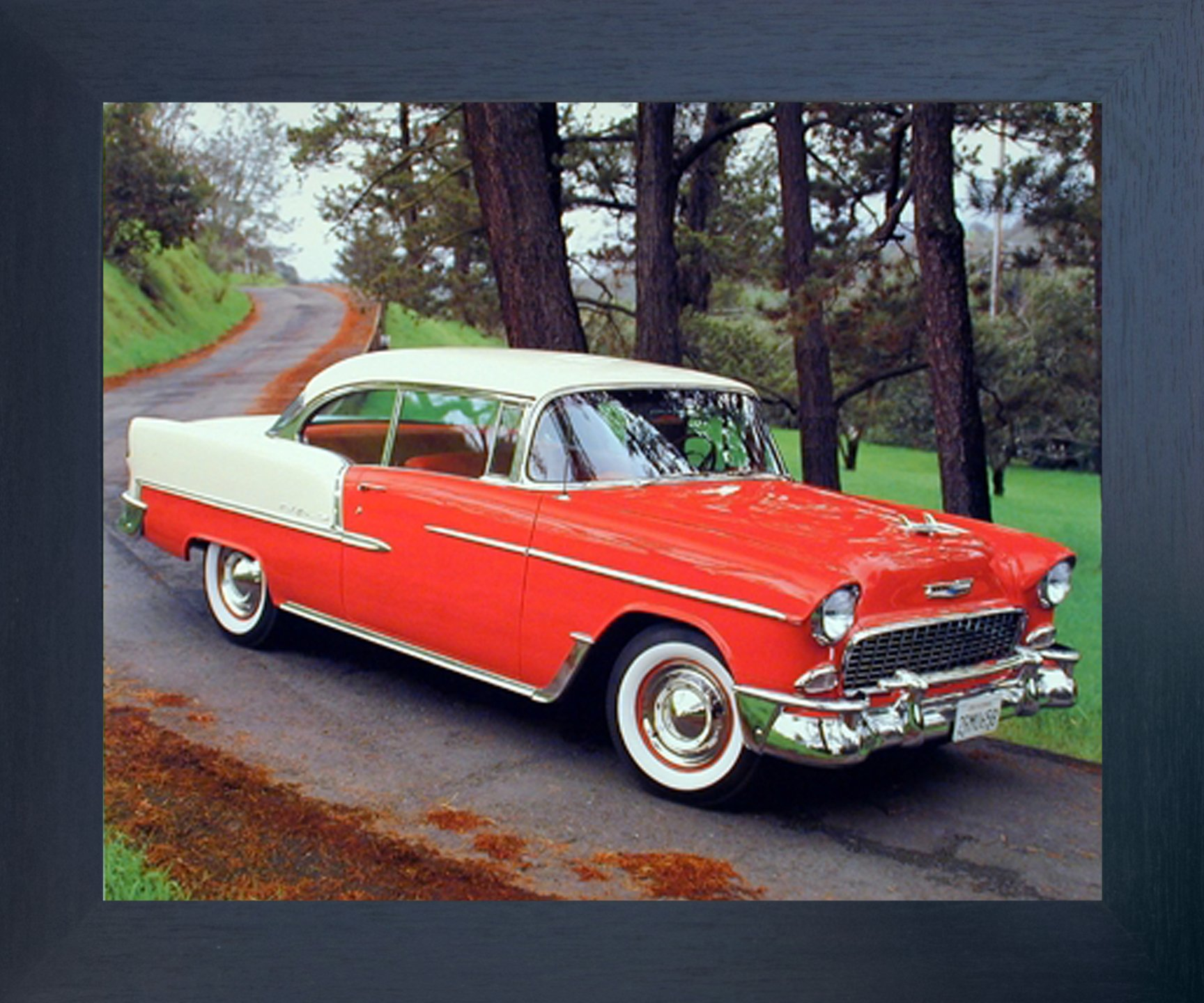 classic car framed posters amazoncom
