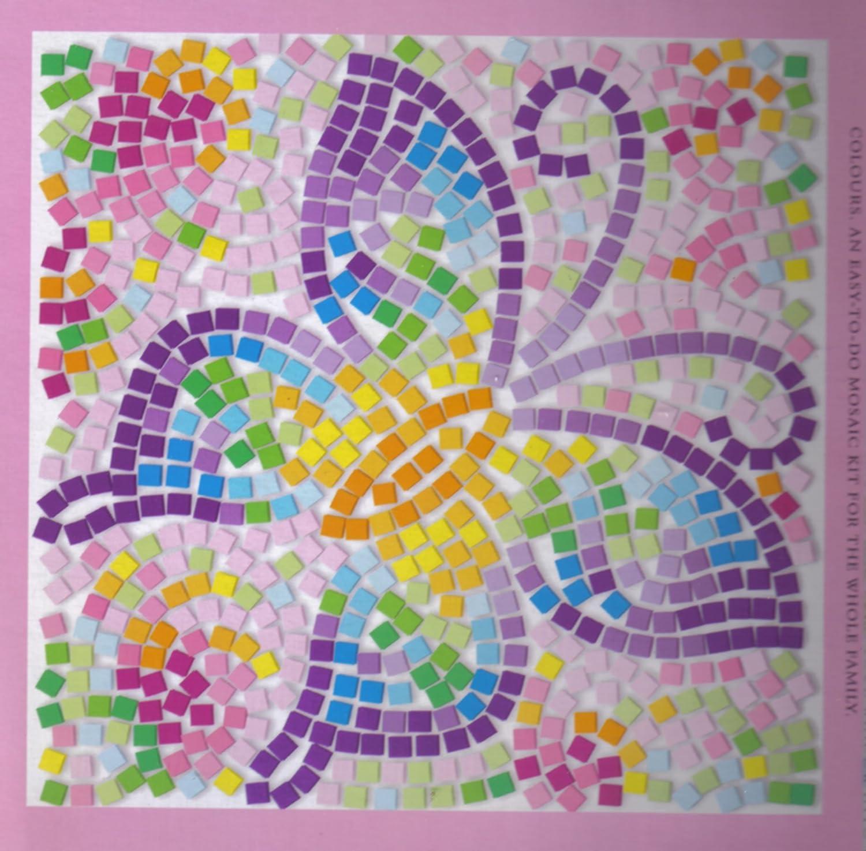Fenster-Mosaik SCHMETTERLING: Amazon.de: Spielzeug