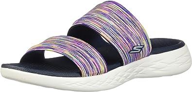Skechers Women S On The Go 600 Bedazzling Slide Sandal Sport Sandals Slides